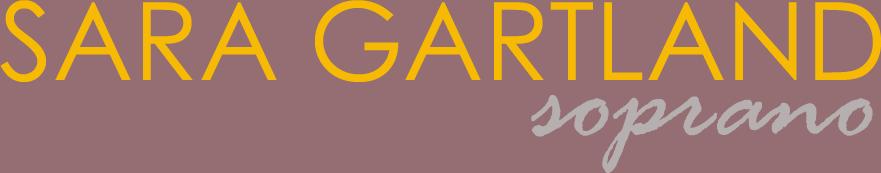 Sara Gartland, soprano